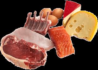 Alimentos alto contenido proteico