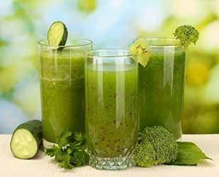 Bebidas verdes quemar grasa